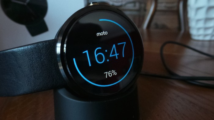 Moto 360 : autonomie