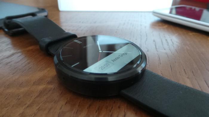 Moto 360 : la batterie devrait offrir une autonomie d'une journée