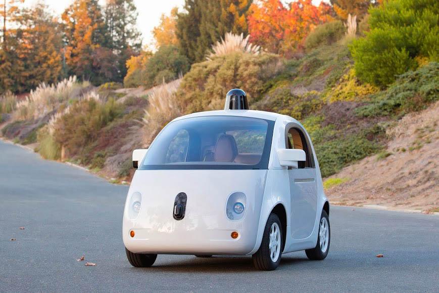 Voici la première construction réelle de la voiture autonome de Google