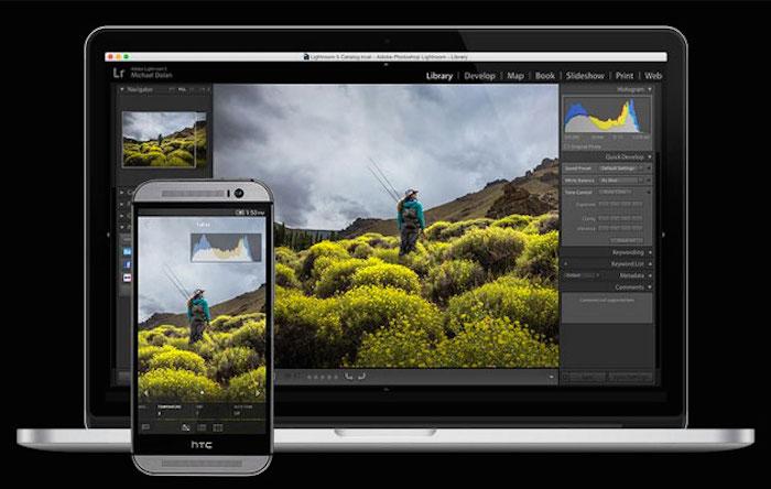 Adobe Lightroom mobile : elle est disponible sur Android