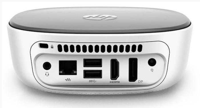 HP Stream Mini : connectique