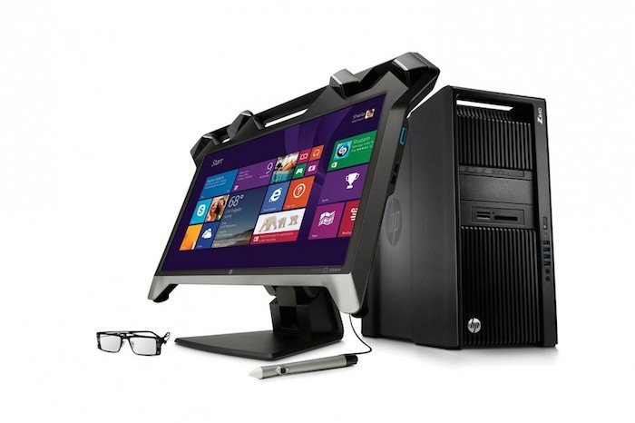 HP Zvr Virtual Reality Display