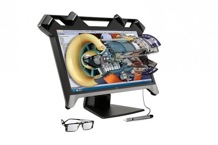 HP Zvr Virtual Reality Display - domaine de la conception 3D