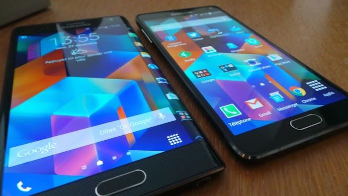 CES'15 : le Galaxy S6 et sa variante présentés aux partenaires