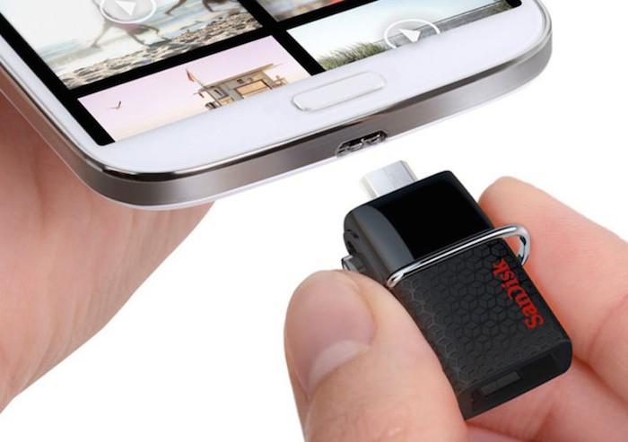 CES'15 : SanDisk lance un clé USB 3.0 pour les smartphones, PC