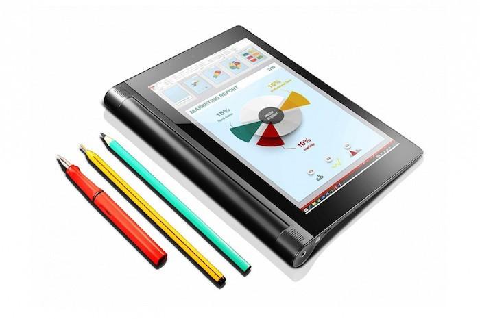 YOGA Tablet 2 : avec la technologie AnyPen écrivez avec n'importe quel stylo