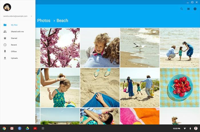 Chrome OS : le gestionnaire de fichiers va adopter la conception Material Design