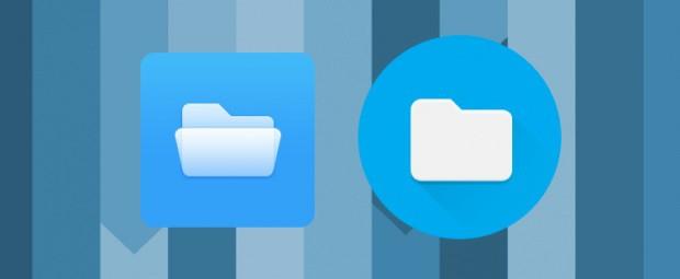 Nouvelle icône du gestionnaire de fichiers de Chrome OS