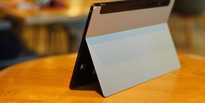 Jide Ultra Tablet : vue de dos