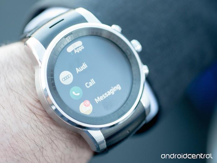 LG G Watch sous webOS : liste des applications
