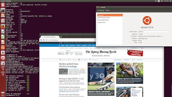 Ubuntu sur le MeegoPad T01