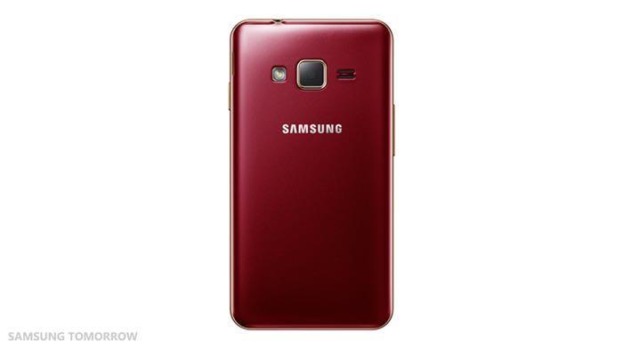 Samsung Z1 - vue de dos