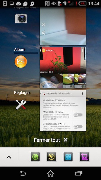 Xperia Z3 : le multitâche ne va pas poser de problème
