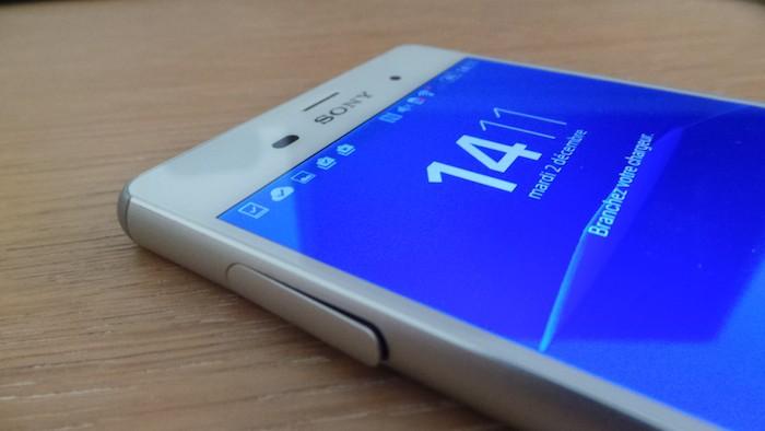 Xperia Z3 : écran
