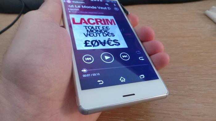 Xperia Z3 : la surcouche utilisateur est très agréable