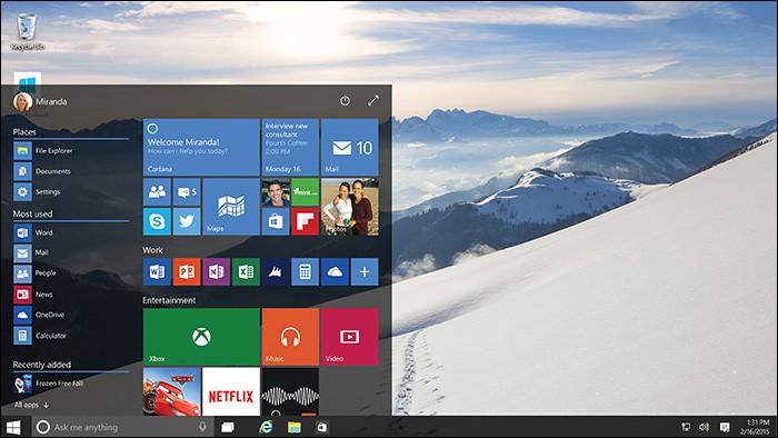 Windows 10 Preview inclut désormais Cortana (et plus)