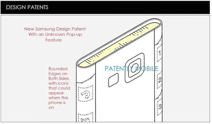 Galaxy S Edge : brevet - 1