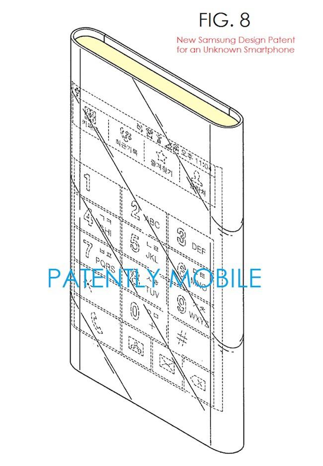 Galaxy S Edge : brevet - 2