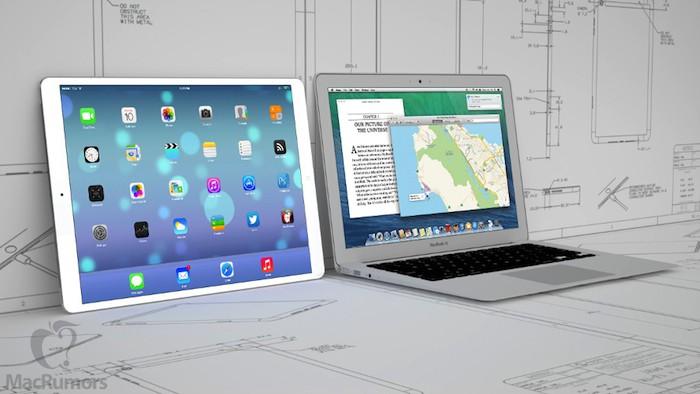 Concept de l'iPad Plus