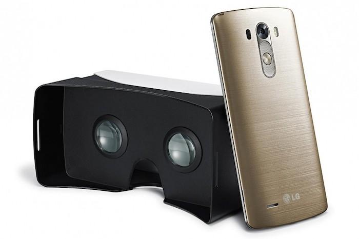 Achetez un LG G3, obtenez un casque de réalité virtuelle