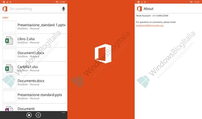 Microsoft teste en privé Work Assistant pour Windows Phone