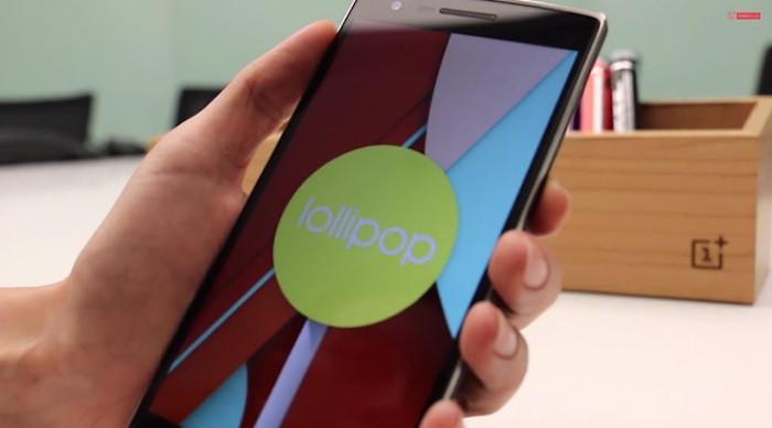 OnePlus One : Android 5.0 Lollipop repoussé à la fin mars