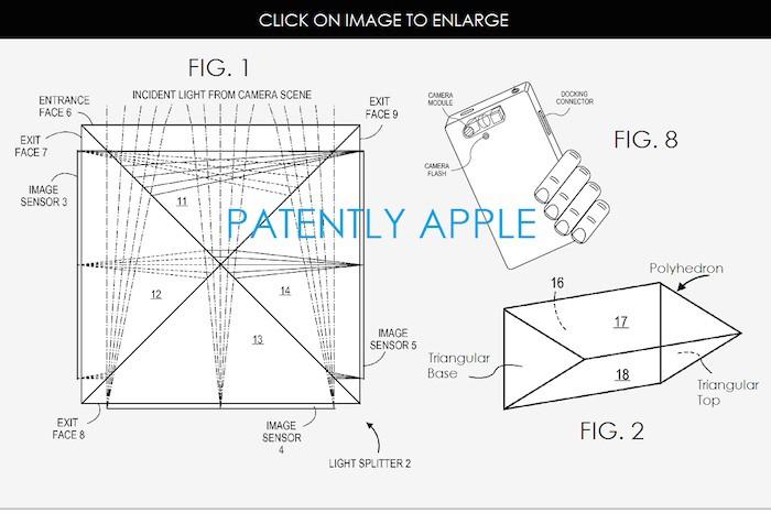 Apple veut réinventer la photo sur smartphone avec ce brevet