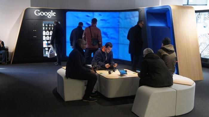 Boutique physique Google à Londres