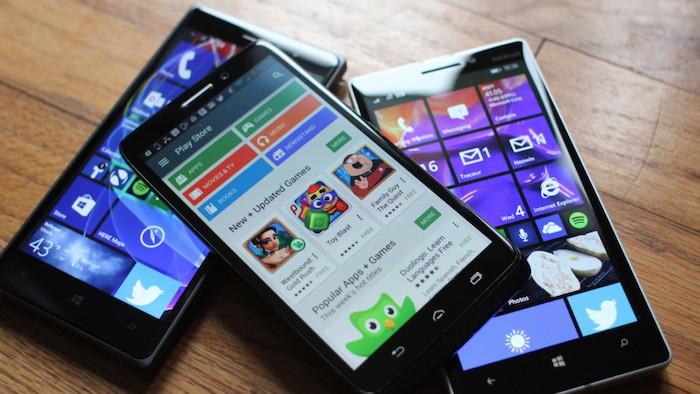 Microsoft apporterait les applications Android sur Windows 10