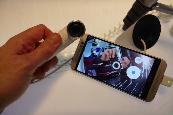 HTC Re : retour photo sur le smartphone
