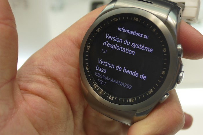 LG Watch Urbane LTE : écran