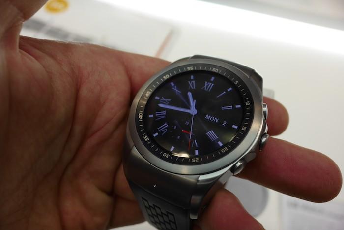 LG Watch Urbane LTE : écran d'accueil