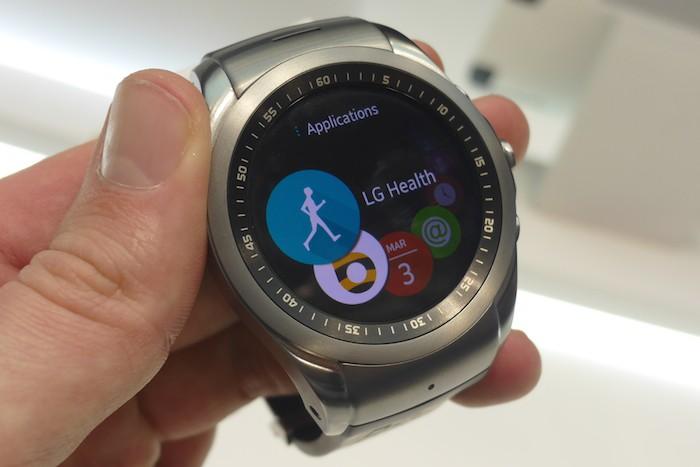 LG Watch Urbane LTE : liste des applications
