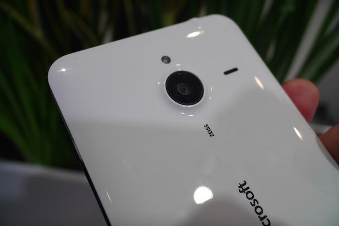 Lumia 640 XL : caméra arrière
