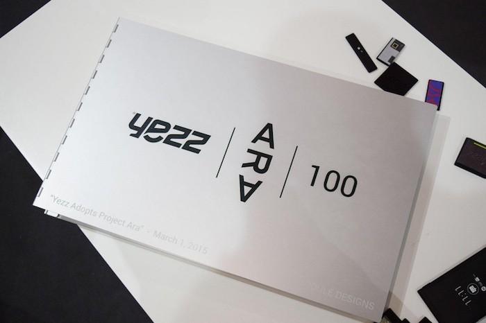 Cahier de concepts du projet Ara de Yezz