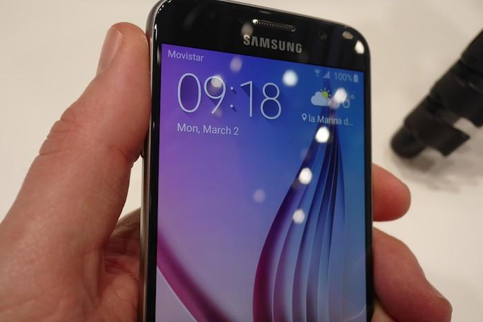 Galaxy S6 : fabuleux écran