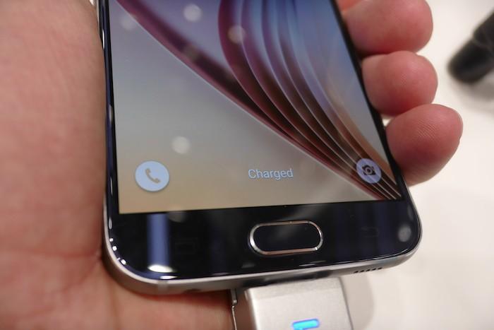 Galaxy S6 : capteur d'empreintes digitales améliorés
