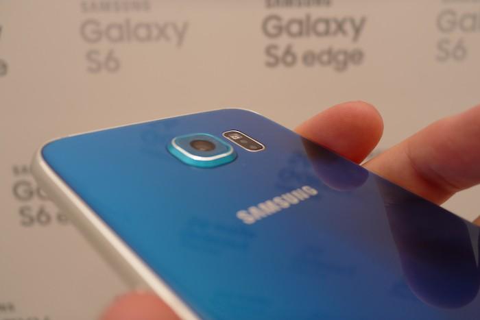 Samsung Galaxy S6 : caméra