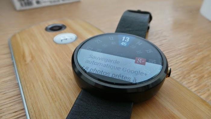 Moto 360 (2015) : une mise à niveau de l'écran ?