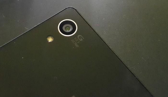 Xperia Z4 : caméra