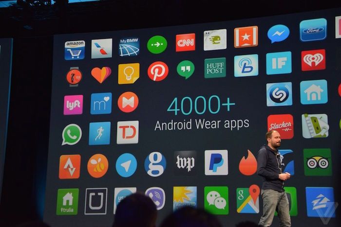 Android Wear : Google confirme 4 000 applications