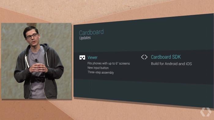 IO 2015 : Google Cardboard est maintenant disponible pour iOS
