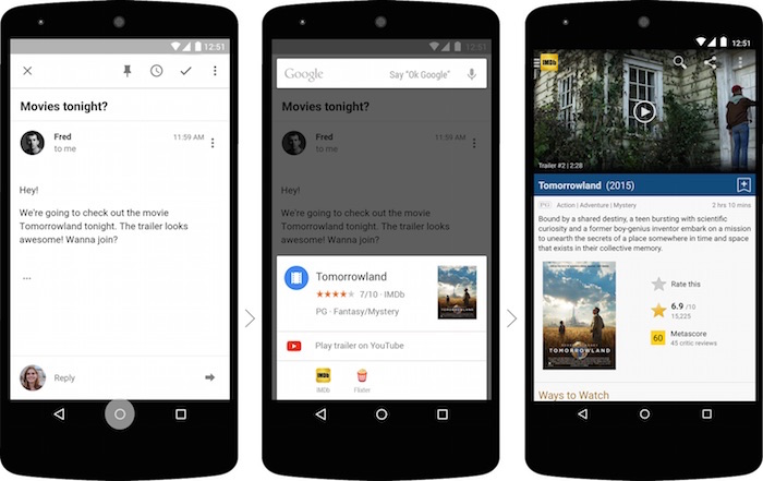 Google Now on Tap