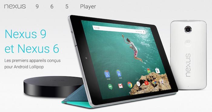 Google prévoit de lancer des smartphones Nexus de 5.2 et 5.7 pouces