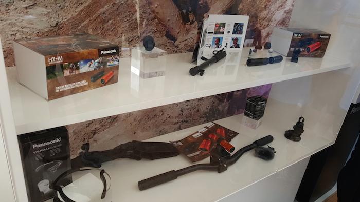 Panasonic HX-A1 : accessoires