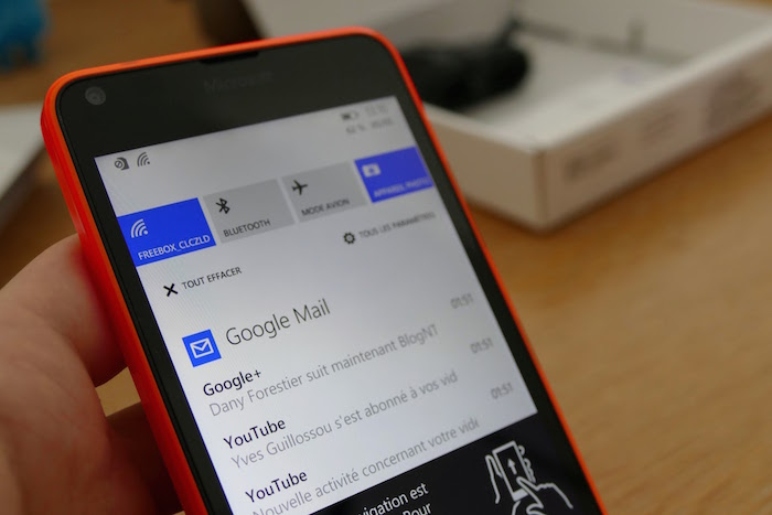 Lumia 640 : Windows Phone 8.1 mise à jour 2