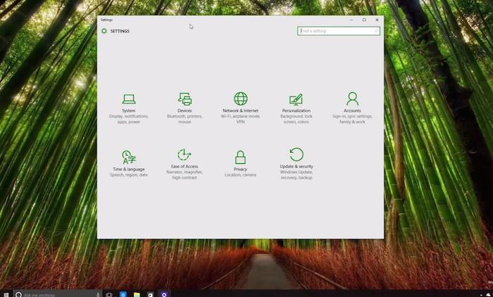 Windows 10 : une foule de petits réglages visuels dans la build 10108