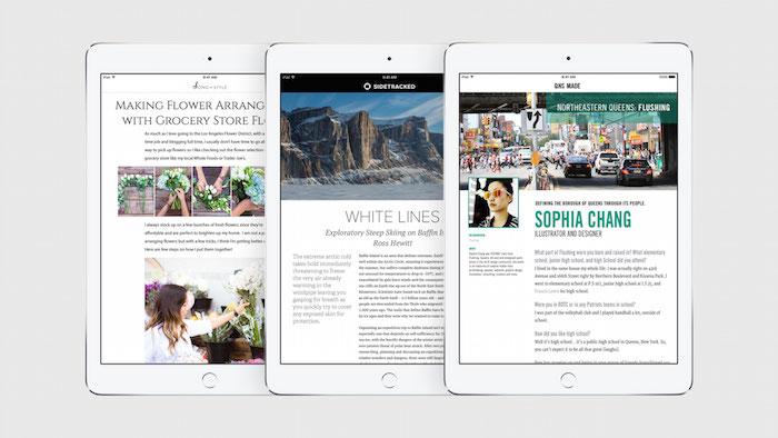 Apple News : cliché 3