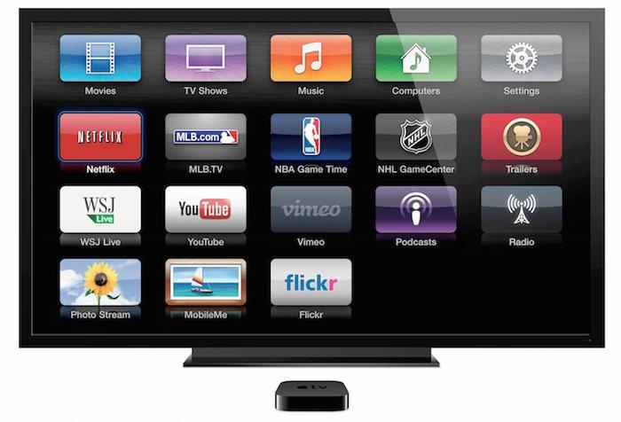 Les applications arriveront sur l'Apple TV sans doute par la suite