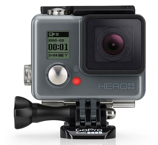 GoPro HERO+ LCD : vue de face